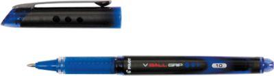 PILOT fineliner V-Ball Grip, 0,7 mm, 12 stuks, blauw