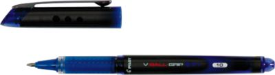 PILOT Tintenroller V-Ball Grip, blau, 0,7 mm