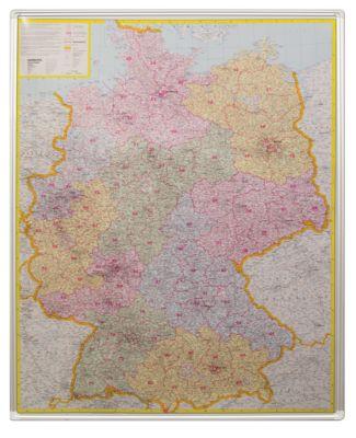 Pinnwandtafel, Deutschland Postleitzahlen