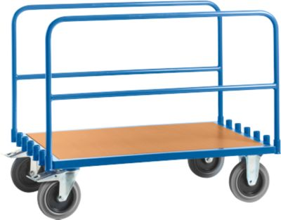 Plateauwagen, met 2 stalen beugels, l 1200 x b 800 mm