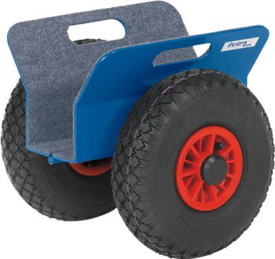 Platenroller, 300 x 340 x 300 mm, 30-95 mm, massief rubber banden