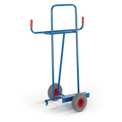 Platenwagen voor lengtetransporten, luchtbanden