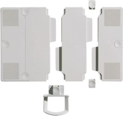 Platten-Erweiterungs-Set, für Telefonarm, lichtgrau