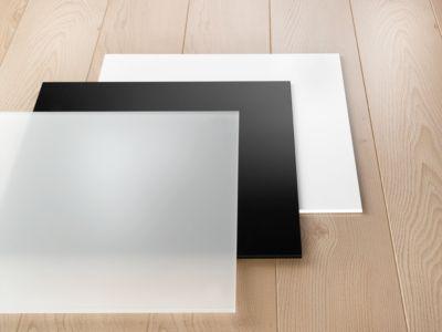 Plexiglas-Boden, weiß