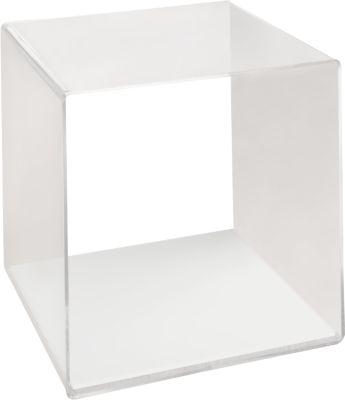 Plexiglas-kubus, glas transparant