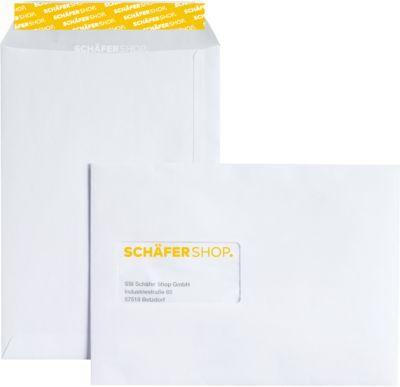 Pochettes d'expédition C5, fermeture adhésive 90 g/m², paquet de 500
