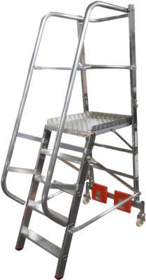 Podestleiter, Vario Alu, 5 Stufen