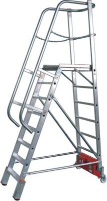 Podestleiter, Vario Alu, 8 Stufen