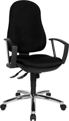 POINT DELUXE bureaustoel, zonder armleuningen