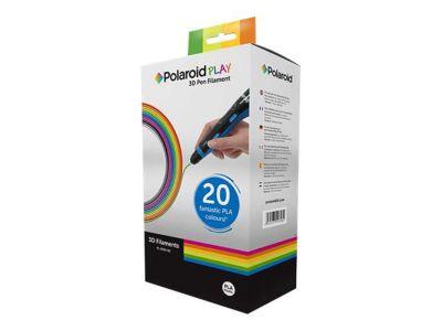 Polaroid Play 3D-FP-PL-2500-00 - 20er-Pack - alle Farben, sortiert - PLA-Filament