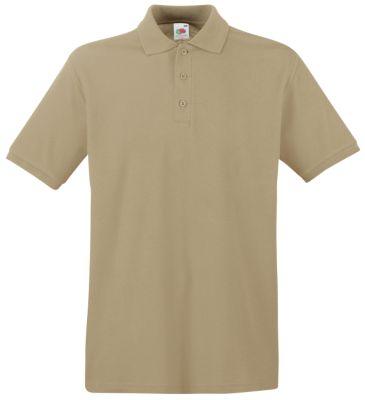 Polo-Shirt Premium, khaki, L