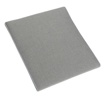 Polsterauflage Lagos, mit Reißverschluss, Baumwolle und Polyester, B450xT420xH50 mm, betongrau