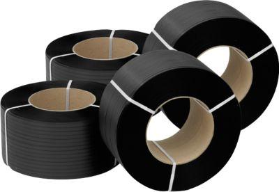 Polypropeen omsnoeringsband, dikte 0,50 mm, breedte 12,7 mm x lengte 2800 m (4 rollen)