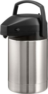 Pomp-thermoskan, 2 liter, stuk