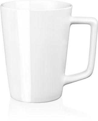 Porzellantasse Cremona, 280 ml, H ca. 108 mm, Ø ca. 82 mm, weiß
