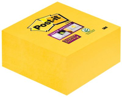 POST-IT Haftnotiz Würfel Super sticky, 76 mm x 76 mm, 350 Blatt