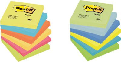 POST-IT Haftnotizen, Sparpaket, farbig