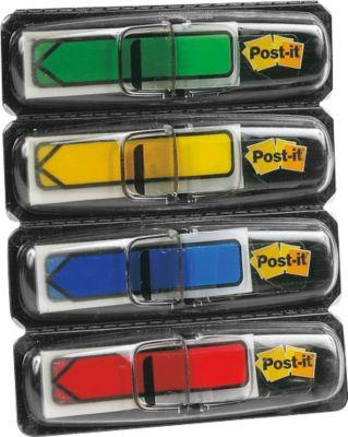 Post-it® Index Pijltjes 684 ARP3, (4 x 24 pijlen: groen, blauw, rood, geel)
