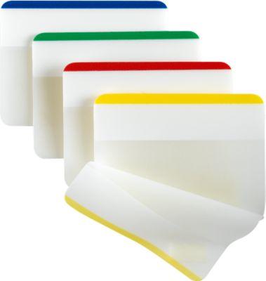 Post-it Index Strong, Extra Stark, Typ 686-F1, blau, grün, rot, gelb