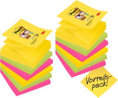 Post-It® Super Sticky Z-Notes, 76 x 76 mm, 12 blokken
