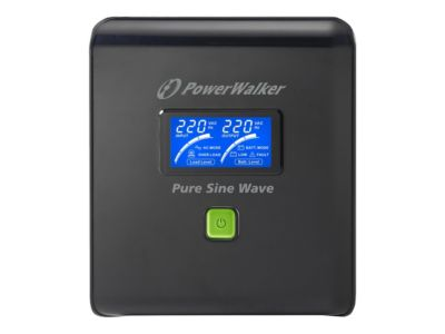 PowerWalker VI 1000 PSW/Schuko - USV - 700 Watt - 1000 VA