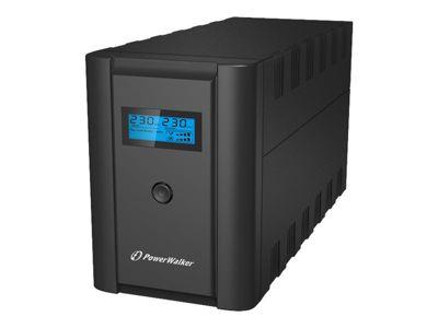 PowerWalker VI 1200 LCD - USV - 600 Watt - 1200 VA