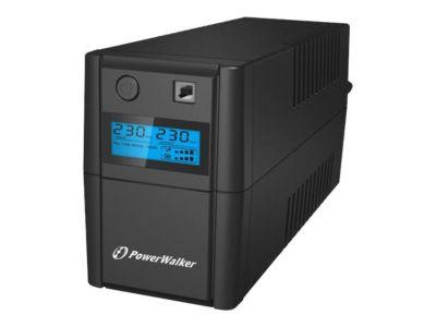 PowerWalker VI 850SE LCD - USV - 480 Watt - 850 VA