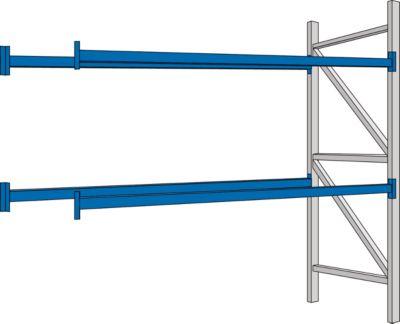 PR350- aanbouwsectie, 2700 x 850 x 2500 mm, lengtebalken