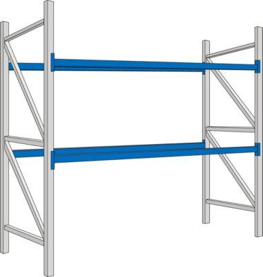 PR350- beginsectie, 2700 x 1050 x 2500 mm, lengtebalken