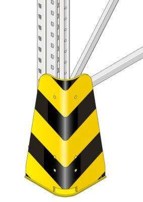 PR350- hoekbescherming, geel/zwart