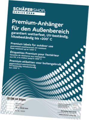 Premium-Anhängeetiketten, 148x209,55 mm, 25 St.