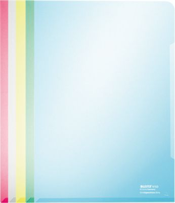 Premium folderhoezen , kleurenassorti, 100st