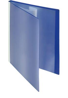 Presentatie-zichtmappen met fronthoezen, blauw, 30 stuks, A4