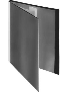 Presentatie-zichtmappen met fronthoezen, zwart, 10 stuks, A4