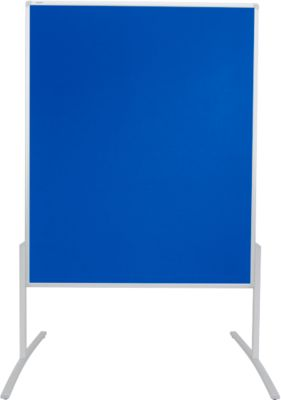 Presentatiebord Pro Line bordsysteem, 1200 x 1500, vilt blauw