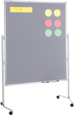 Presentatiebord PRO textiel/textiel grijs