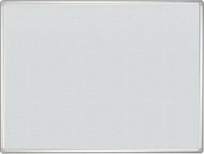 Prikbord met vilt Pro Line bordsysteem 900 x 1200 mm, grijs