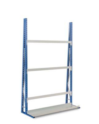 Profiel-magazijnrek, basissectie, enkelzijdig, 2500x1800x340 mm