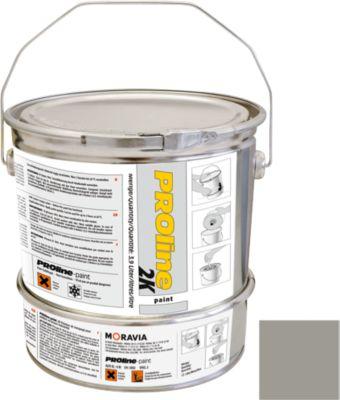 PROline-paint 2K-Hallenbeschichtung, steingrau