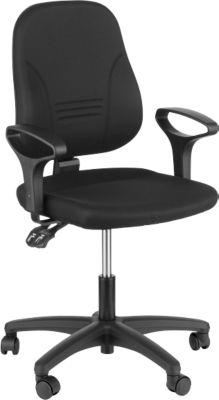 Prosedia bureaustoel YOUNICO Plus 3, 3D-rugleuning hoogte 510 mm, zonder armleuningen, blauw