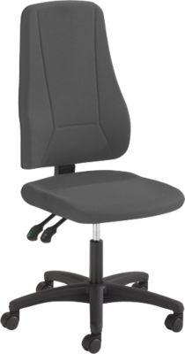 Prosedia YOUNICO Plus 3 bureaustoel, zonder armleuningen, anthraciet