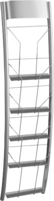 Prospekt-Wandhalter Filio, inkl. Wandbefestigungsmaterial, Stahl