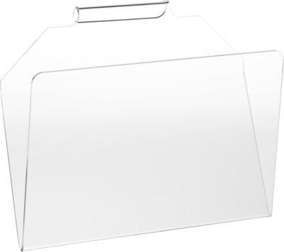Prospektetage, 300 x 120 x 250 mm, Plexiglas