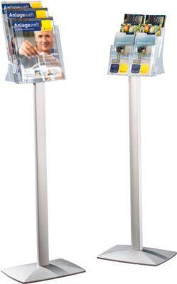 Prospekthalter für 3 x DIN A4