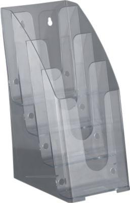 Prospektständer, 4 Fächer, 1/3 DIN A4