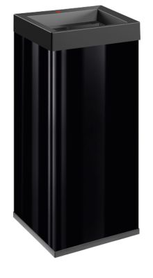 Prullenbak Big-Box Quick, zwart, 40 l