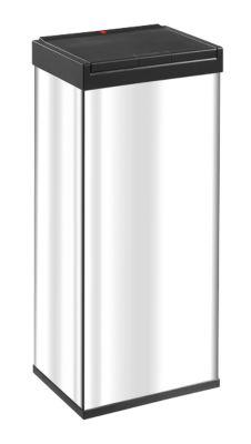 Prullenbak Big-Box Touch, edelstaal, 60 l