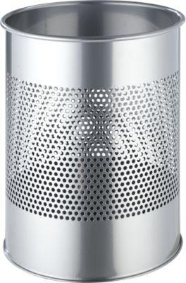 Prullenbak, zilvermetallic