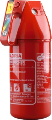 Pulver-Feuerlöscher F2GM