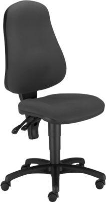 PUNKT ERGO bureaustoel, permanent contact, zonder armleuningen, voorgevormde zitting, in hoogte verstelbaar